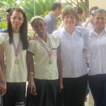La Vega Christian School Honor Students