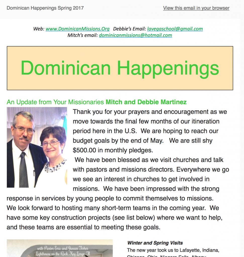 dominican republic missionaries