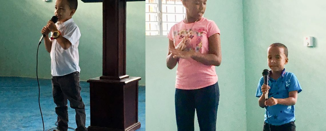 Sunday School in Rose of Sharon – Dominican Republic